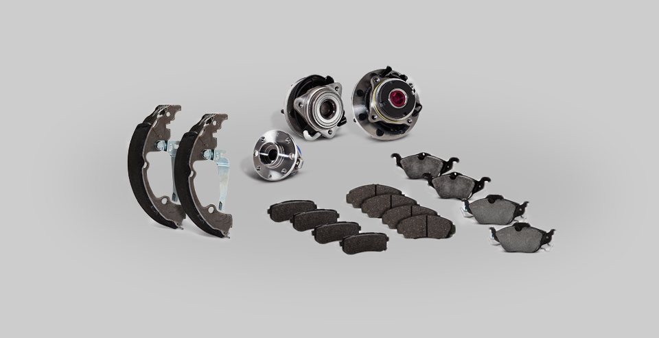 Composição de produtos de freios